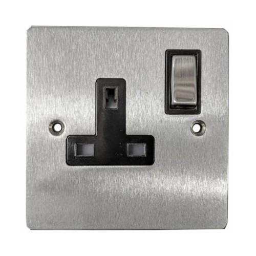 1 Gang 13A Switched Single Socket