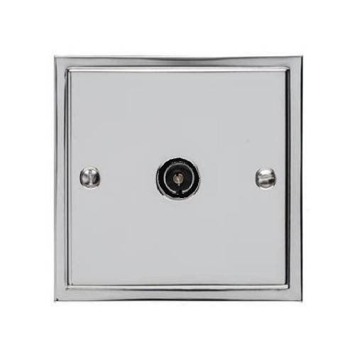 1 Gang TV/Coaxial Non Isolated Socket