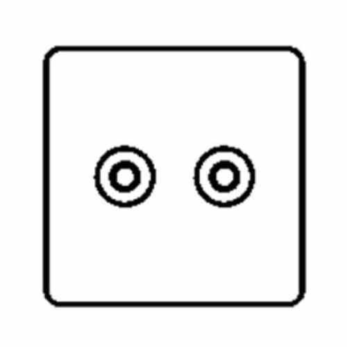 TV/FM Diplexed Socket