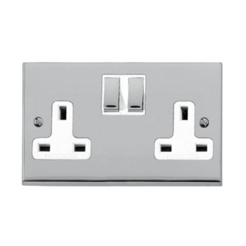 2 Gang 13A Switched Socket