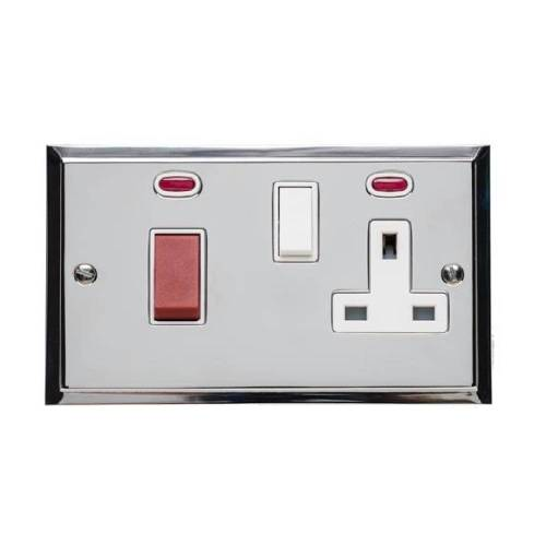45A Cooker Unit with 13A Socket