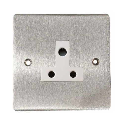 5A 3 Pin Unswitched Single Socket