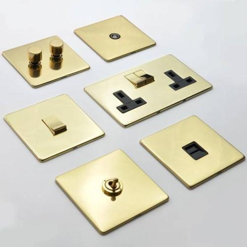Polished Brass Studio Range