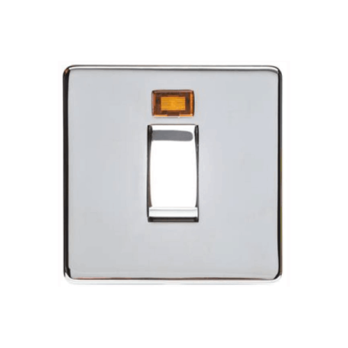 1 Gang 45A Cooker Switch Single Plate