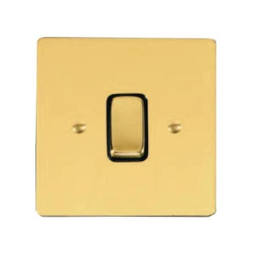 Stylist Grid Polished Brass L01