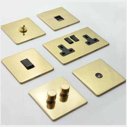Vintage Polished Brass