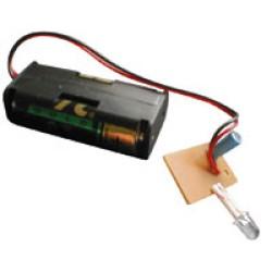 FLASHING LED + battery holder