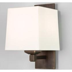 Astro Lighting Lambro Plus 305 Bronze Wall Light, Astro 0633 18W energy saving lamp