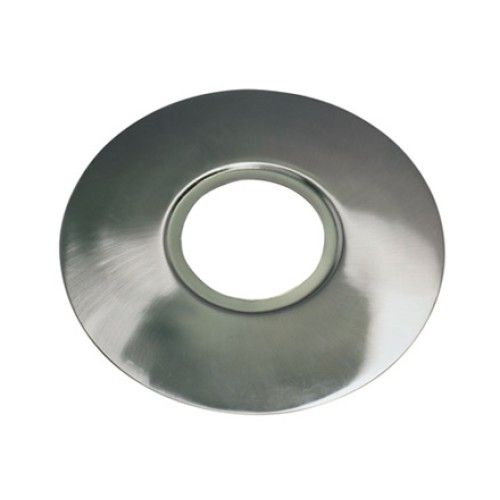 Satin Steel Circular Conversion Plate, 70 - 180mm conversion plate for downlights