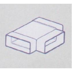 Flat Ducting Horizontal T-Piece 100MM 110 X 54mm