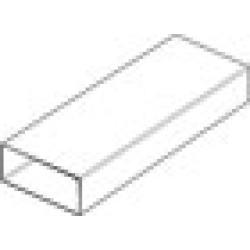 Flat Channel Ducting 1.5M 110 x 54mm