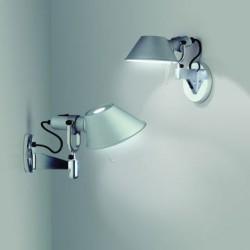 Artemide Tolomeo Micro Faretto Wall Light with Fully Rotational Aluminium Diffuser
