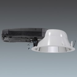High Frequency 2 x 26W TC-DEL lamp Cetus Downlight with Integral Gear