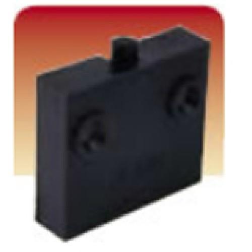 Surface Push to Break Black Cupboard Switch