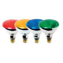 80W PAR38 ES Blue Coloured Reflector Lamp