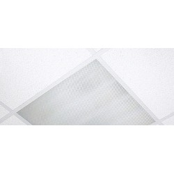Flat Panel Diffuser 600mm x 600mm, prismatic panel TPb rated for 24mm T ceiling system