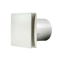 "Manrose RTDeco 150mm 6"" White Extractor Fan, Decorative Standard White Wall/Ceiling Fan"