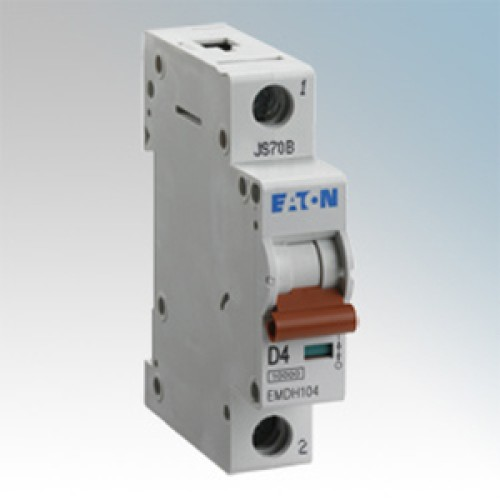 MEM Memshield3 EMBH106 6A MCB type B 10/15kA Trip, 1 Module Single Pole Miniature MCB
