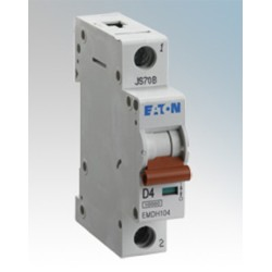 MEM Memshield3 EMBH116 16A MCB type B 10/15kA Trip, 1 Module Single Pole Miniature MCB