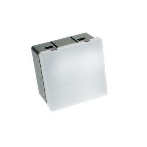 1W Blue LED Euro Module Stairlight (50mm x 50mm) 230V - Innovative LED light module