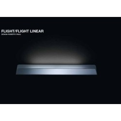 Nemo Flight Linear Wall Light in White Ceramic design Roberto Paoli, Nemo Cassina FLIHWW31
