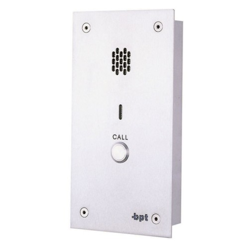 BPT 1 Way Audio Entry Vandel Resistant Panel (Only)