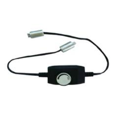 In-Line Dimmer for 12V LED Strip lights, LED striplight inline dimmer (max. 60 LEDs)