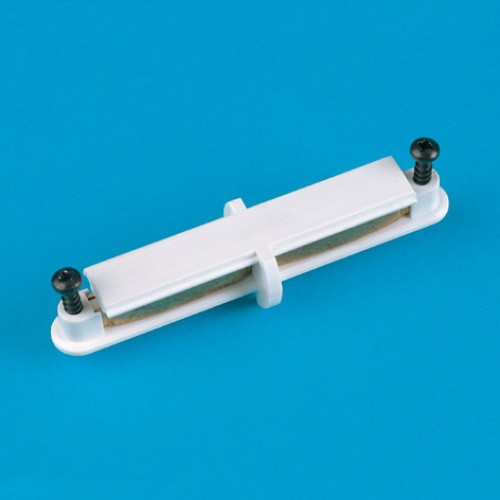 White Sirius 1 Straight Electrical Connector for 12V Microlux Track