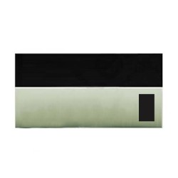 Lutron Grafik Eye QS Faceplate Kit 0 Blinds/Shade Zone in Satin Nickel and Translucent Top, Lutron QSGFP-TSN