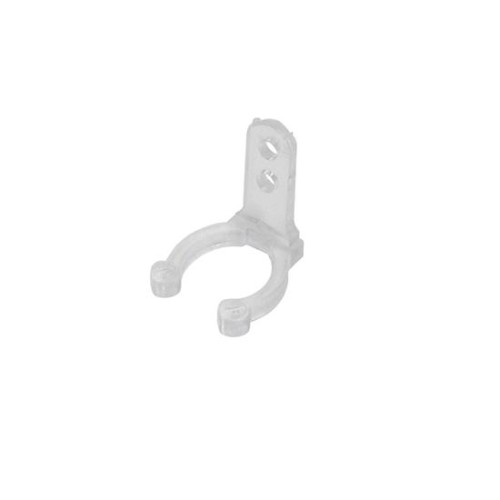 Wall or Ceiling Clear Mounting Clip for Rope Lights