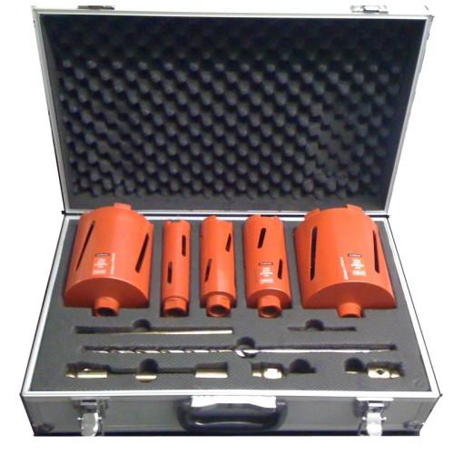 5 piece Dry Diamond Core Drill Set