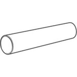 Rigid PVC Round Ducting 1M 100mm