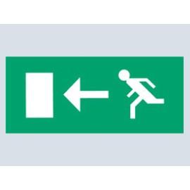 Pictogram Arrow Left For Emergency Light Classic 8W Bulkhead