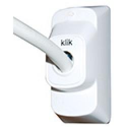 Klik 3 Pin Plug white