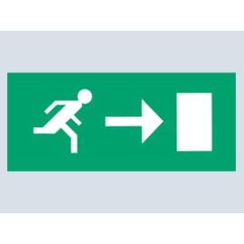 Pictogram Arrow Right For Emergency Light Classic 8W Bulkhead