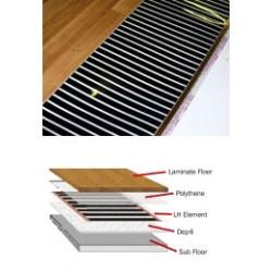 Laminate Floor Element Underfloor Heating 1M X 1M 0.13KW
