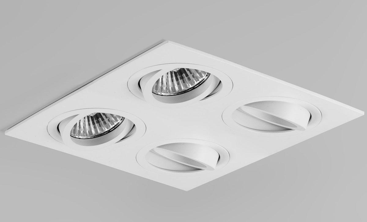 Ax5663 Taro Quad Adjustable Interior Downlight In White