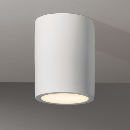 Ax5646 Osca 140 Round Surface Plaster Fixed Downlight In