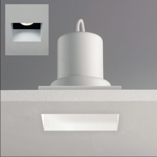 Ax5670 Ip65 Fire Rated Trimless Square Downlight In