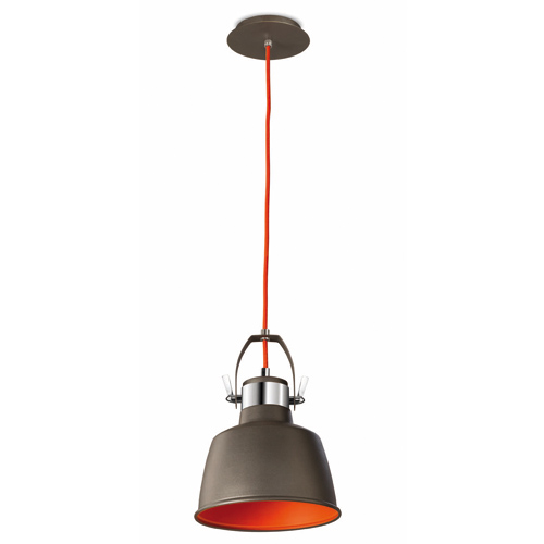 Hanging Light Fittings Wholesale: Urban Grey Vintage Metal Pendant / Wall Lamp With