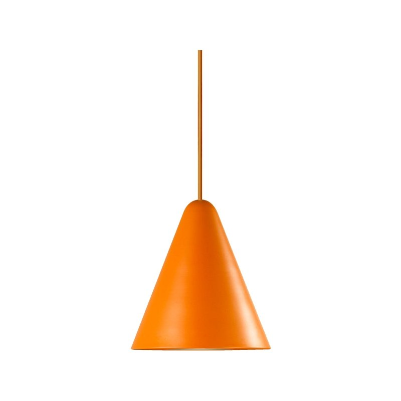 jive orange pendant conical nordlux 75403027 23w metal