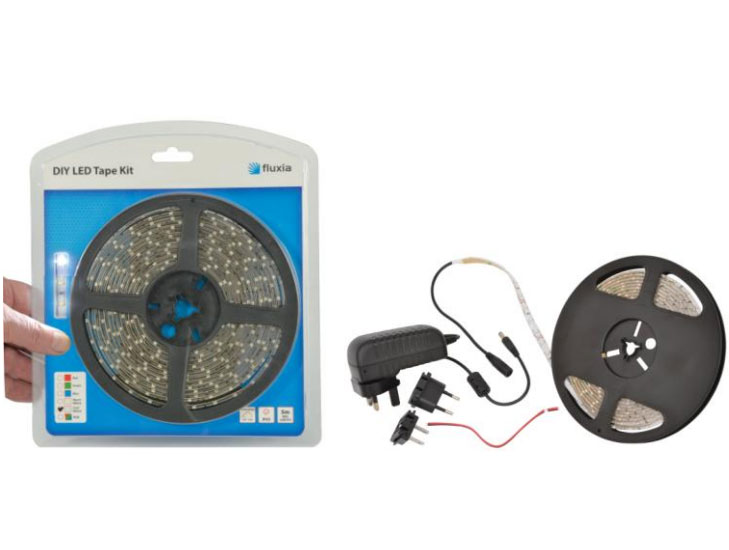 ledk1rgb flexible led strip light kit ip65 rated 5m. Black Bedroom Furniture Sets. Home Design Ideas