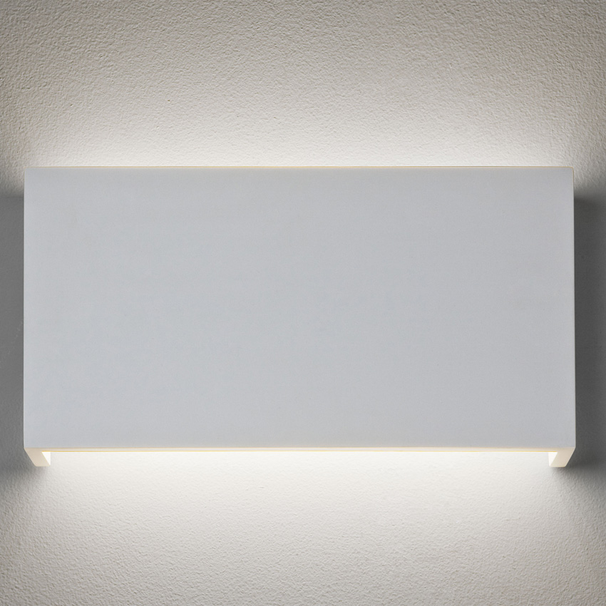 Ax7172 Rio 325 14w Led White Paintable Plaster Wall