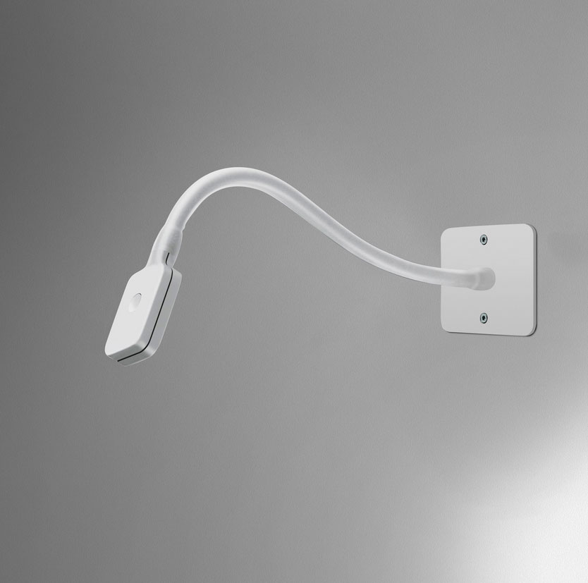 Ay550 Artemide Skopos White 2w Led Wall Light With