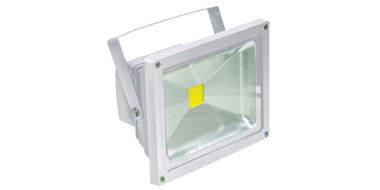 IP65 Waterproof 20W LED Floodlight in White, 5000K 1580lm Ultra Bright LED Flood