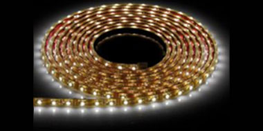 IP65 Flexible LED Striplight in Cool White, 5m LED Strip Light for Decorative Outdoor use