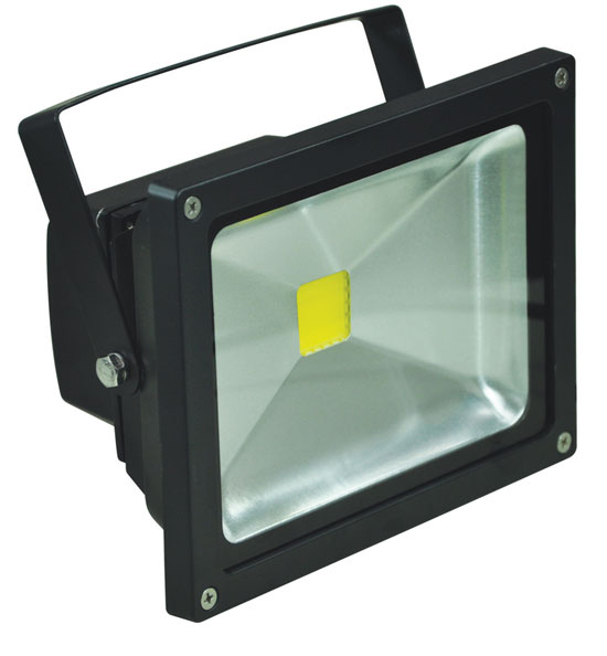 20w led floodlight in black 5000k 1580lm ultra bright led flood