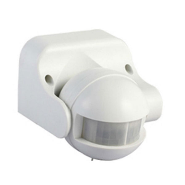 Es34wh 180 Deg External Creamy White Pir Security Motion