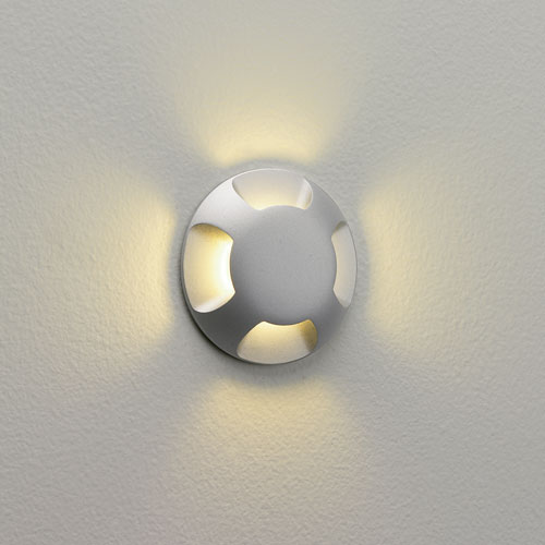 Ax0939 Ip67 Beam Four Round Walkover Led Light 3w 700ma 3000k For Exterior Wall Grou