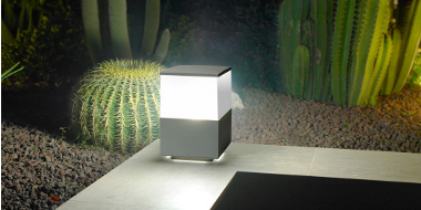 Post lights pillar lighting sparks direct stylish post and pillar lights for gardens and other outdoor spaces aloadofball Image collections
